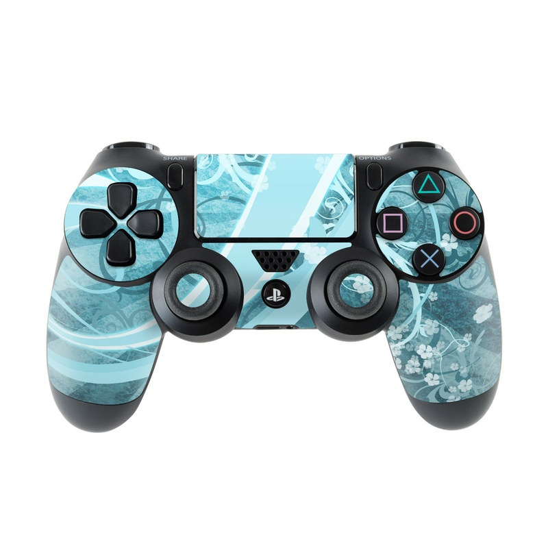 Flores Agua PlayStation 4 Controller Skin