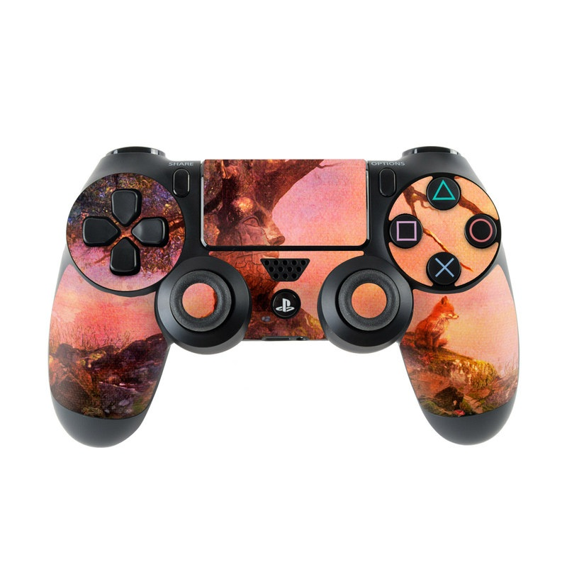 Fox Sunset PlayStation 4 Controller Skin