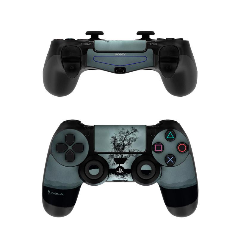 Flying Tree Black PlayStation 4 Controller Skin