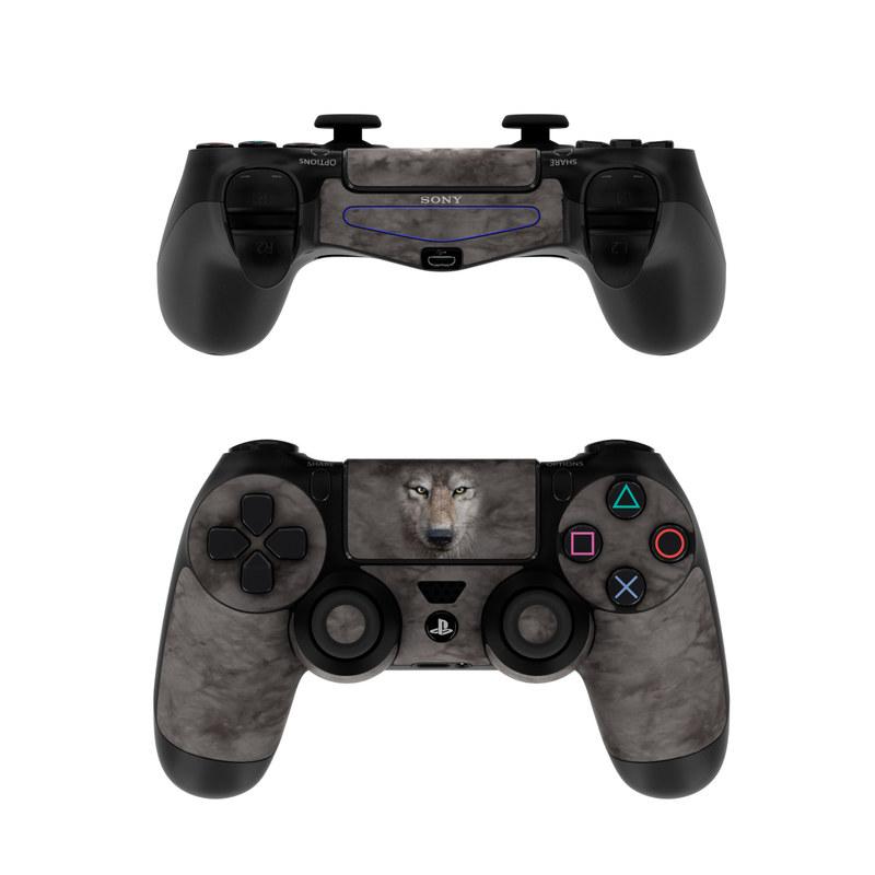Grey Wolf PlayStation 4 Controller Skin