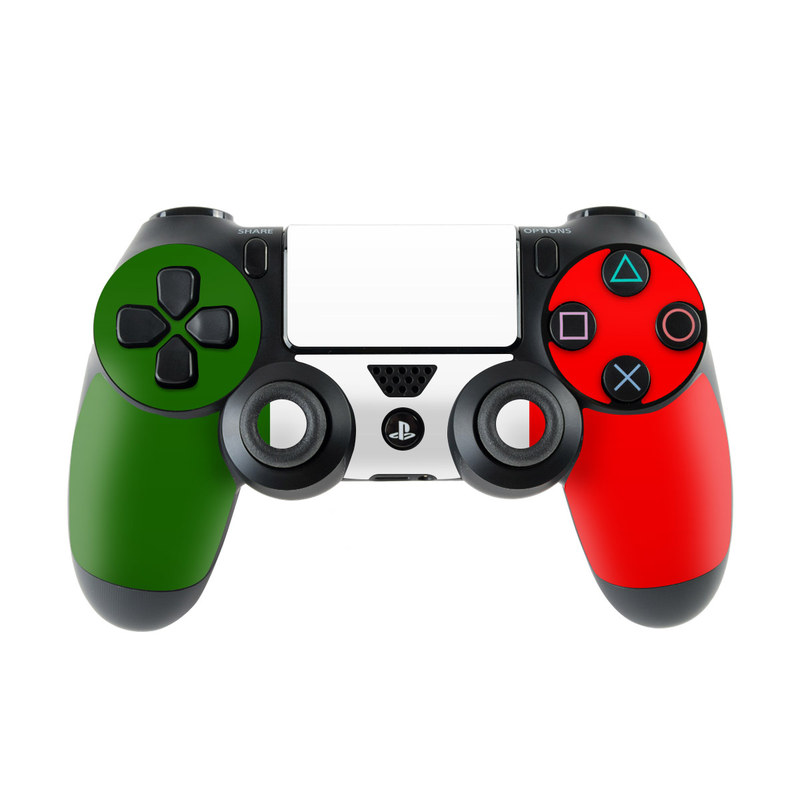 Italian Flag PlayStation 4 Controller Skin