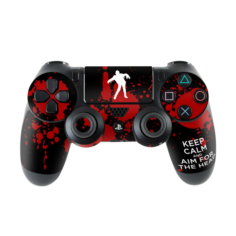 Keep Calm - Zombie PlayStation 4 Controller Skin
