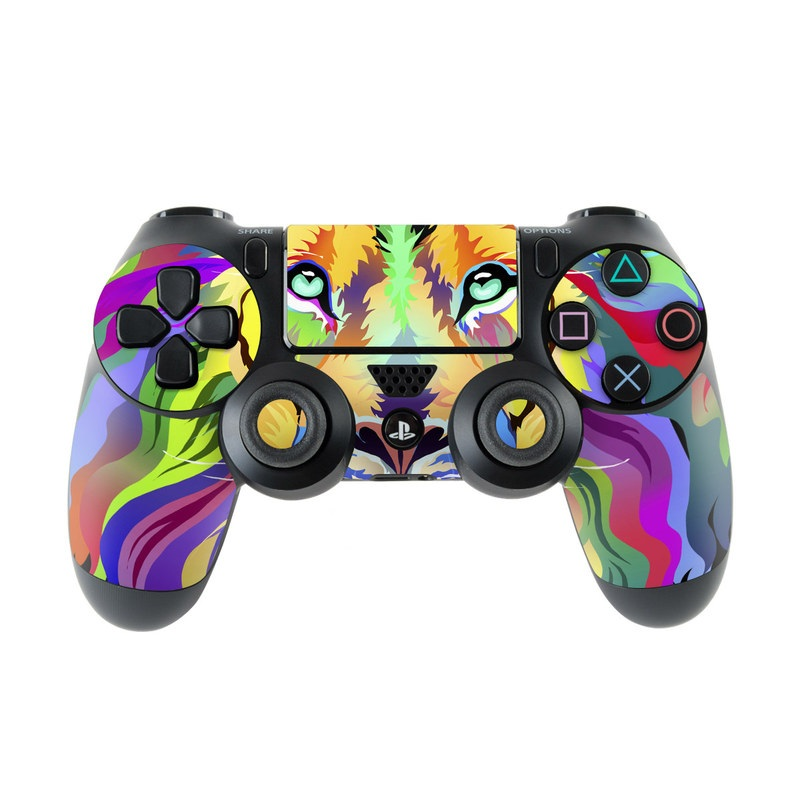 King of Technicolor PlayStation 4 Controller Skin