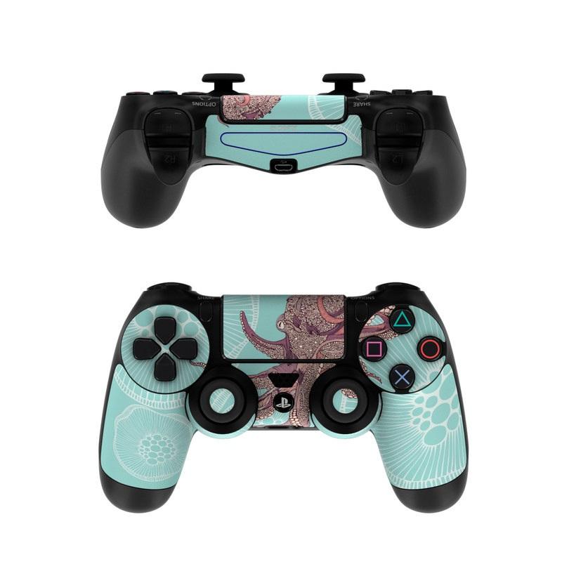 Octopus Bloom PlayStation 4 Controller Skin