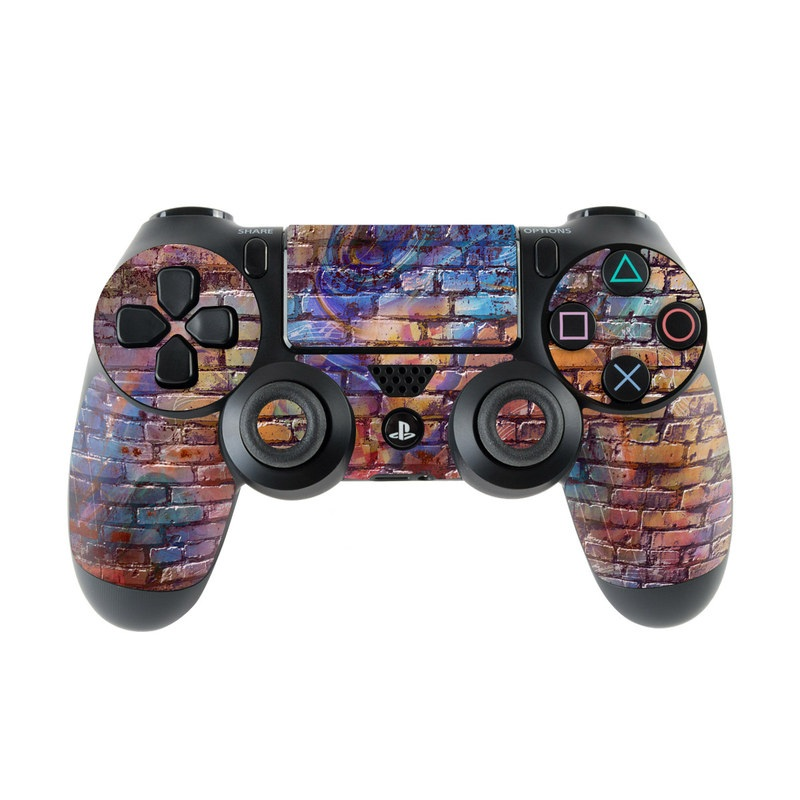 Painted Brick PlayStation 4 Controller Skin