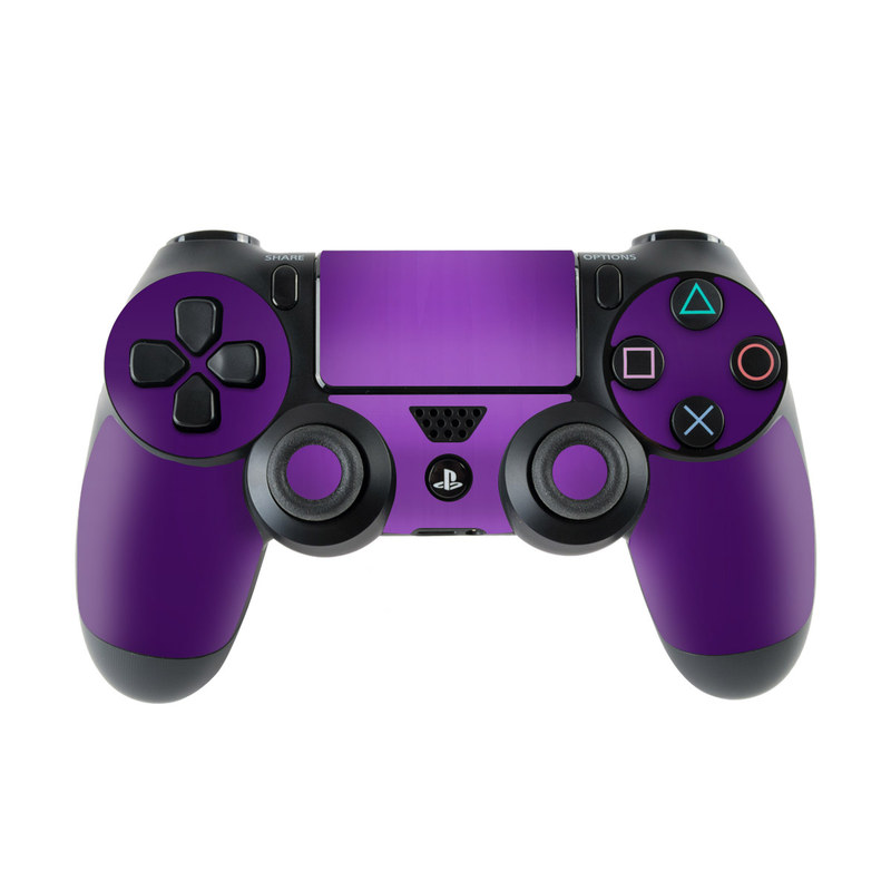 PlayStation 4 Controller Skin design of Violet, Purple, Lilac, Pink, Magenta, Wallpaper with black, purple, blue colors