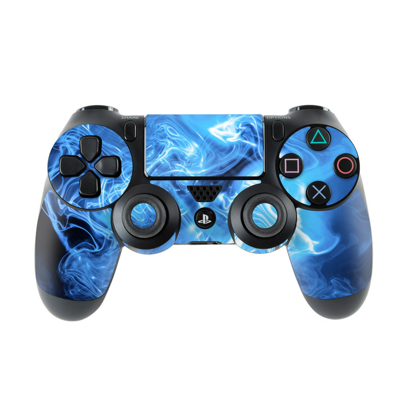 Blue Quantum Waves PlayStation 4 Controller Skin