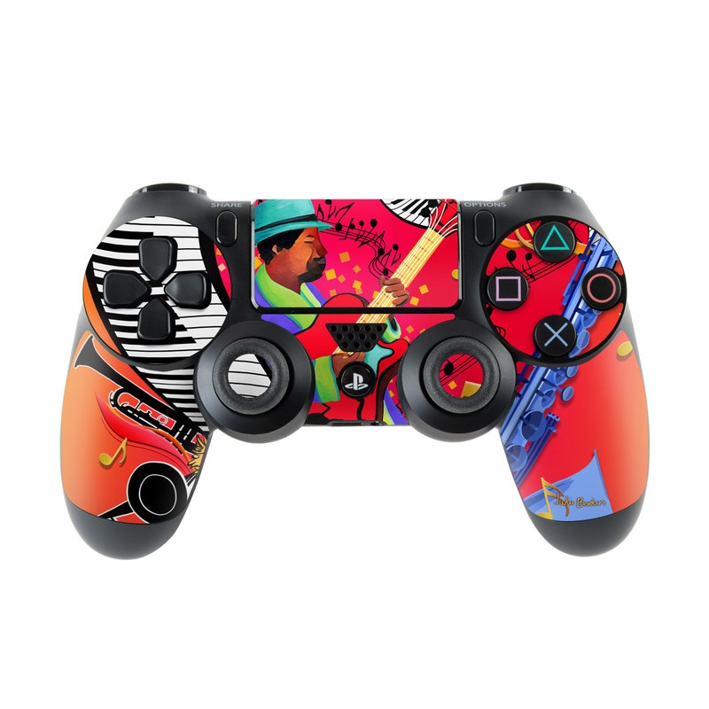 Red Hot Jazz PlayStation 4 Controller Skin