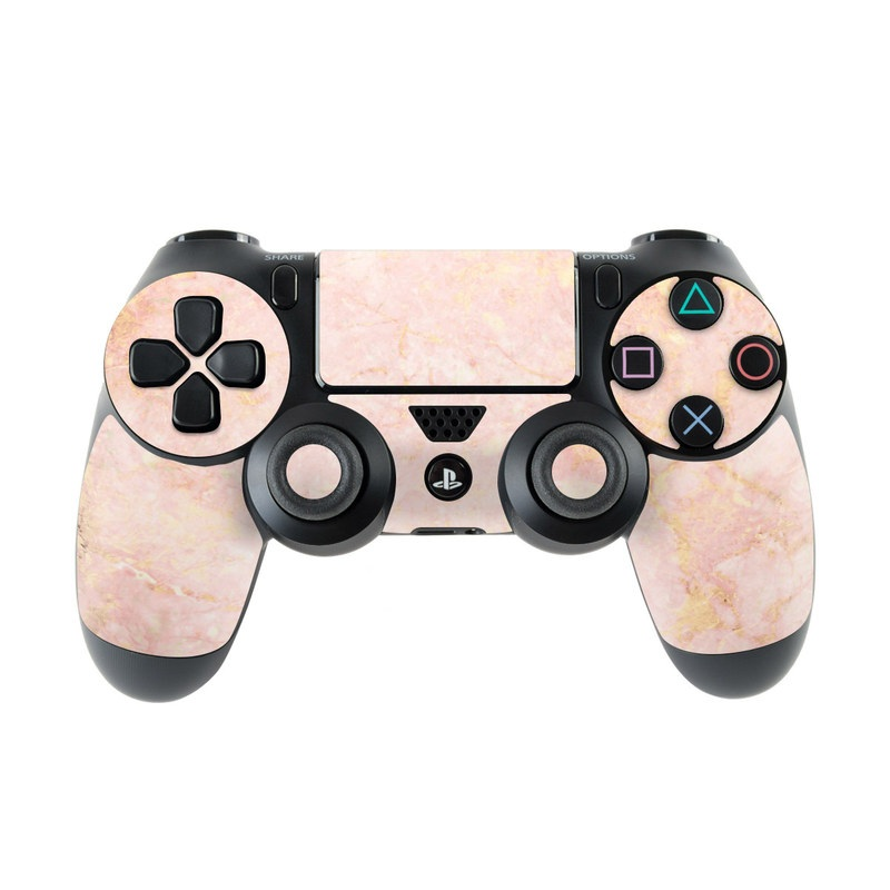 Rose Gold Marble PlayStation 4 Controller Skin