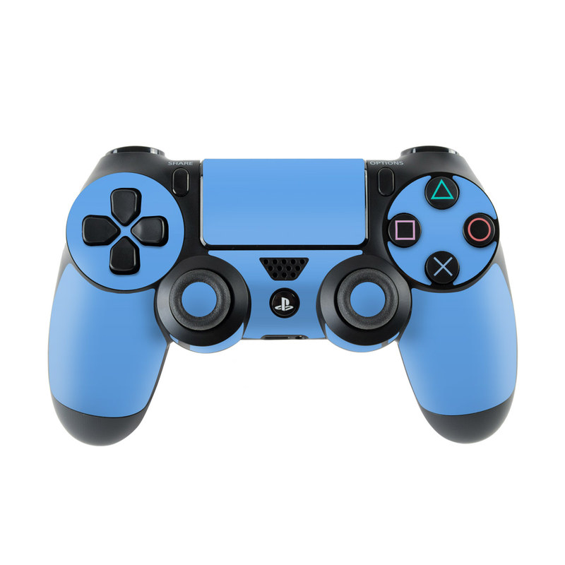 Solid State Blue PlayStation 4 Controller Skin