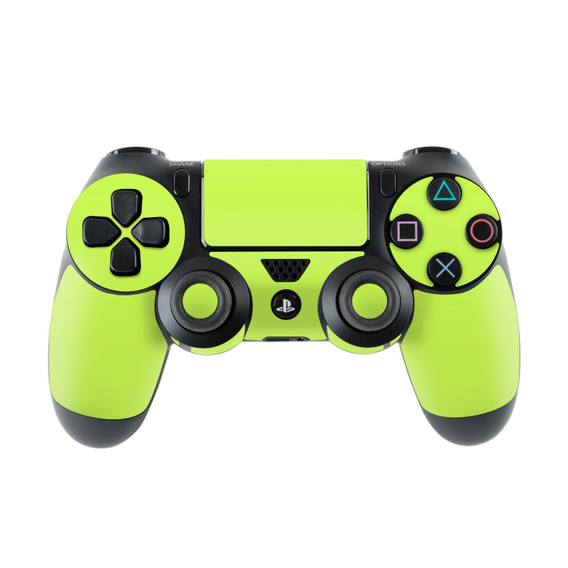 Solid State Lime PlayStation 4 Controller Skin