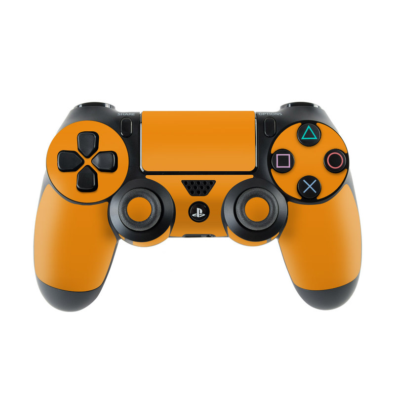 Solid State Orange PlayStation 4 Controller Skin