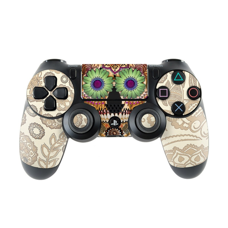 Sugar Skull Bone PlayStation 4 Controller Skin
