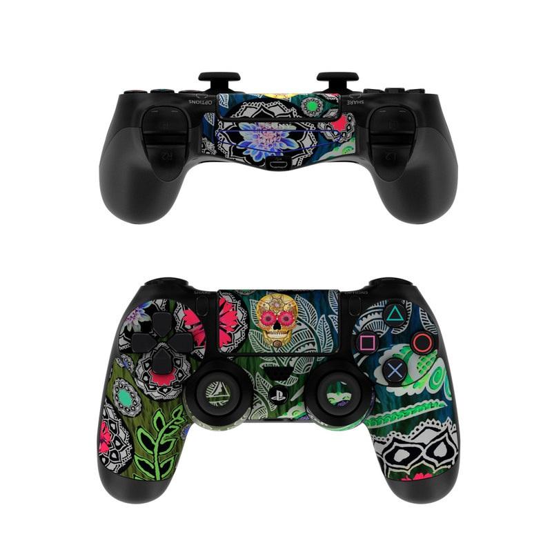 Sugar Skull Paisley PlayStation 4 Controller Skin