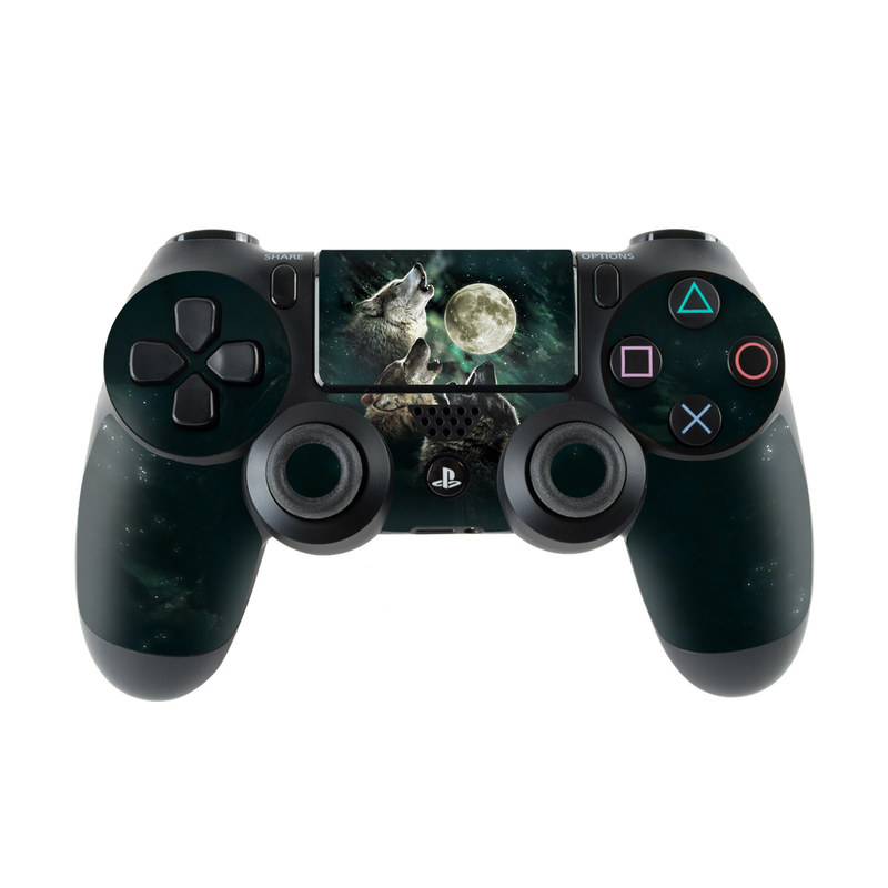 Three Wolf Moon PlayStation 4 Controller Skin