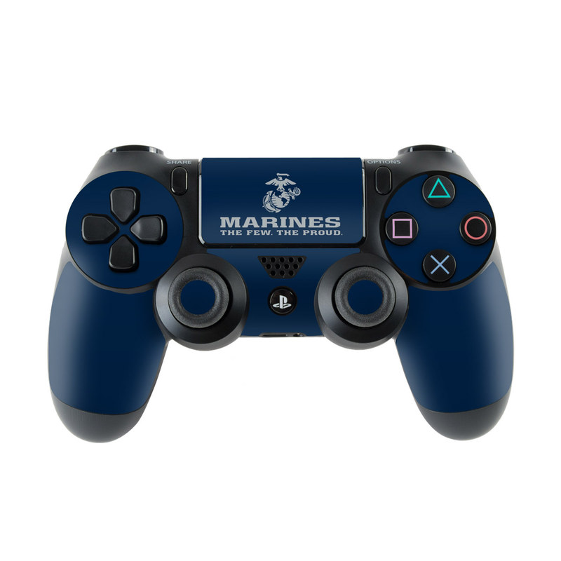 USMC Blue PlayStation 4 Controller Skin