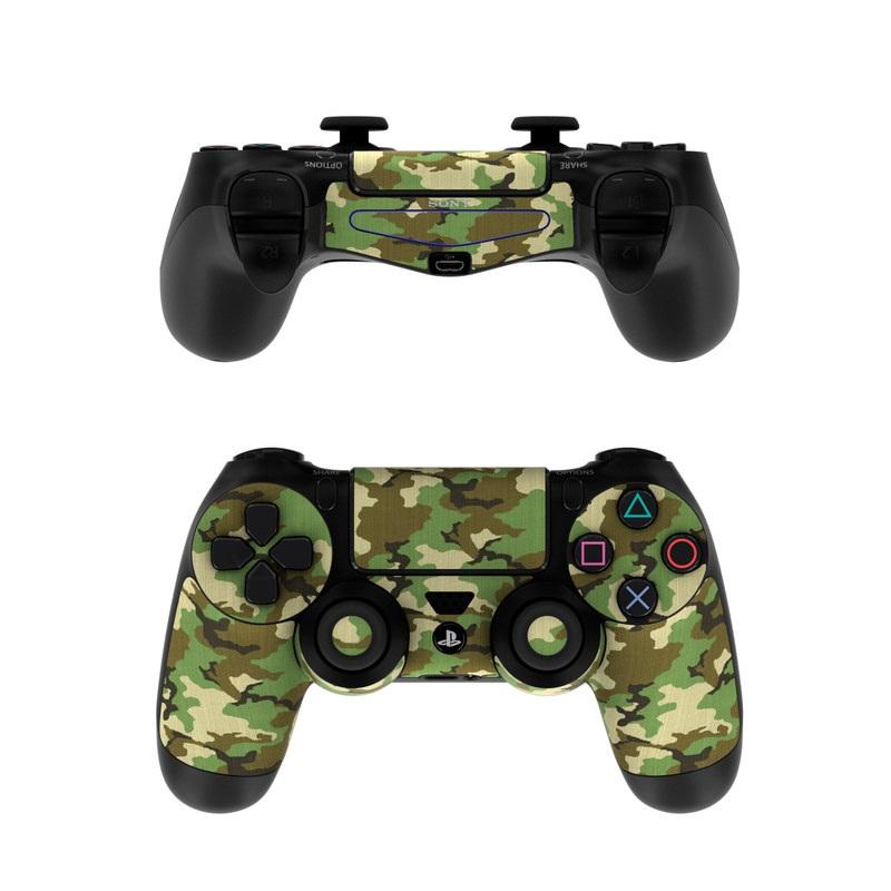 Woodland Camo PlayStation 4 Controller Skin