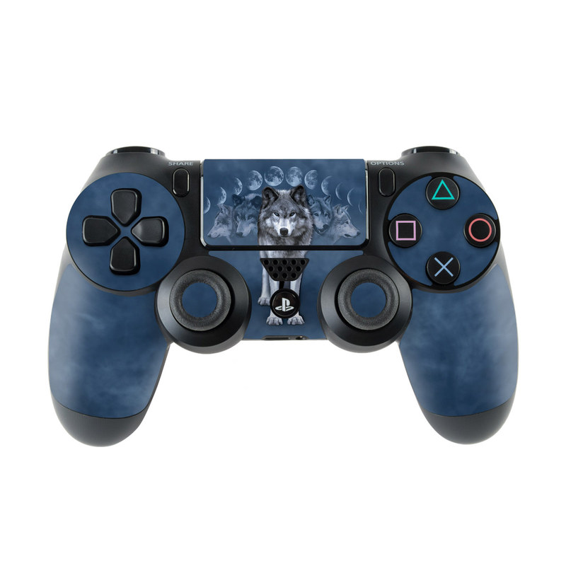 Wolf Cycle PlayStation 4 Controller Skin