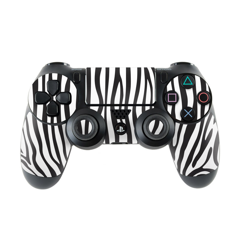 Zebra Stripes PlayStation 4 Controller Skin