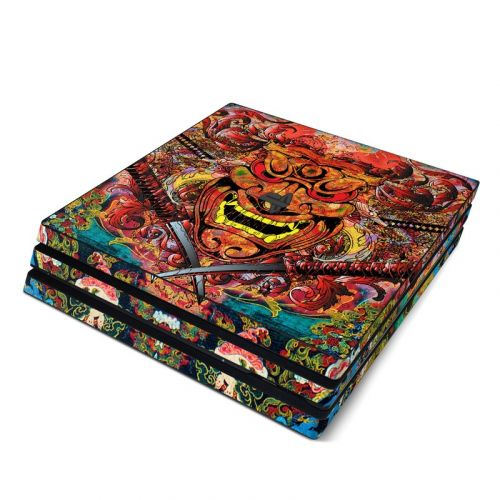 Asian Crest PlayStation 4 Pro Skin