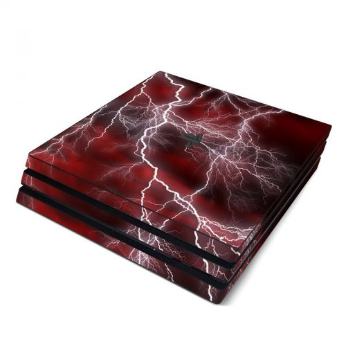 Apocalypse Red PlayStation 4 Pro Skin