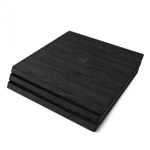 Black Woodgrain PlayStation 4 Pro Skin