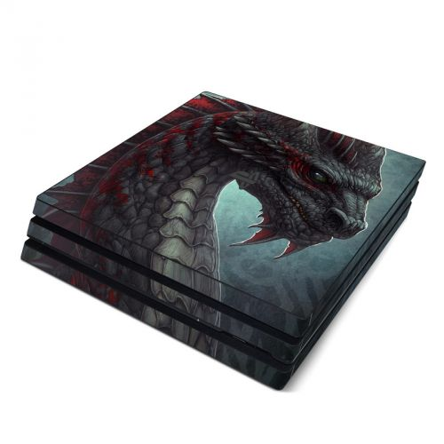 Black Dragon PlayStation 4 Pro Skin