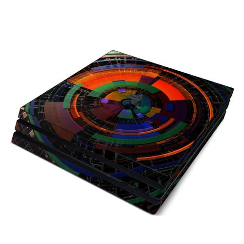 Color Wheel PlayStation 4 Pro Skin