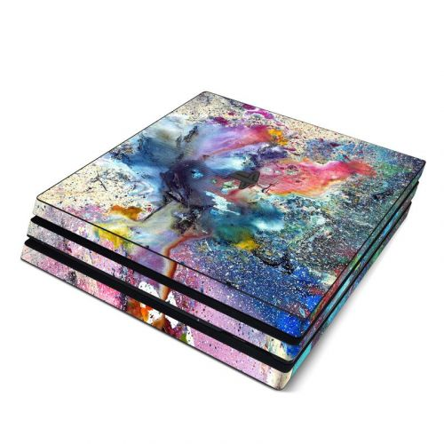 Cosmic Flower PlayStation 4 Pro Skin