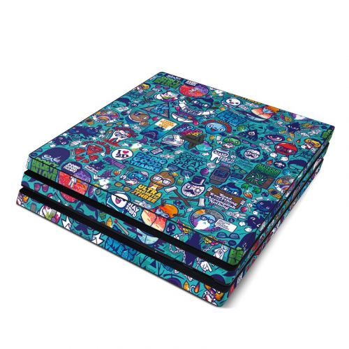 Cosmic Ray PlayStation 4 Pro Skin