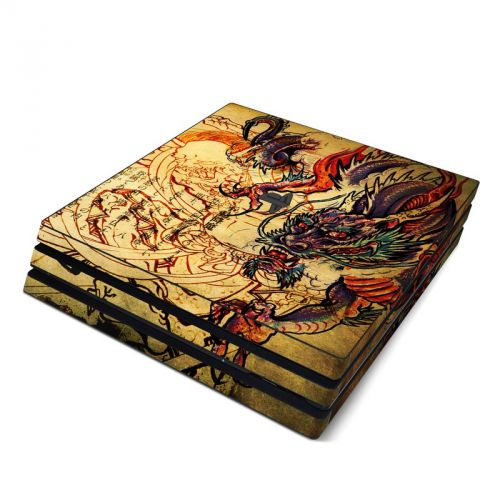 Dragon Legend PlayStation 4 Pro Skin