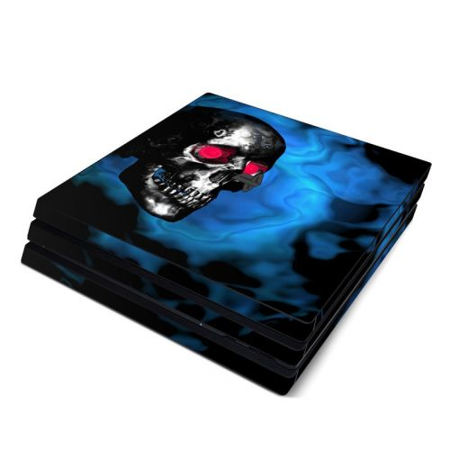 Demon Skull PlayStation 4 Pro Skin