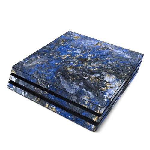 Gilded Ocean Marble PlayStation 4 Pro Skin