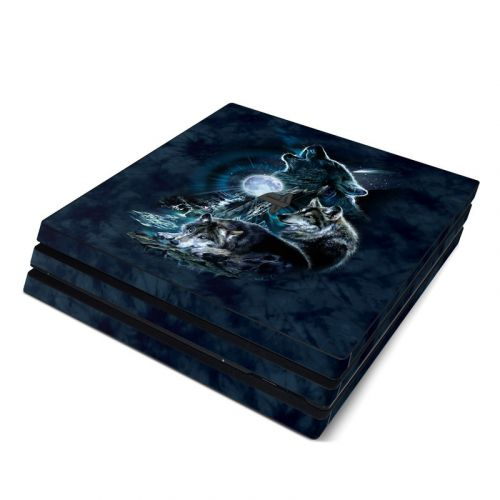 Howling PlayStation 4 Pro Skin
