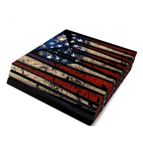 Old Glory PlayStation 4 Pro Skin