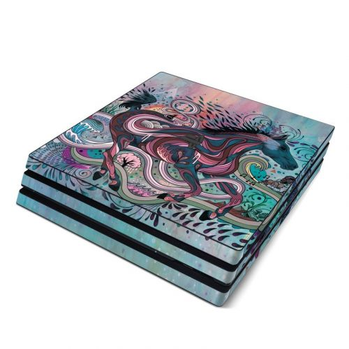 Poetry in Motion PlayStation 4 Pro Skin