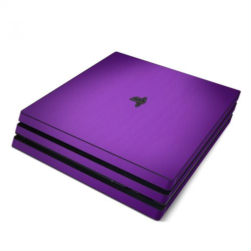 Purple Burst PlayStation 4 Pro Skin