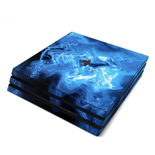 Blue Quantum Waves PlayStation 4 Pro Skin