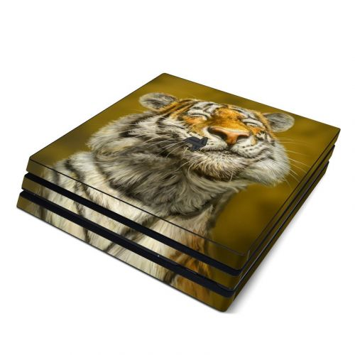 Smiling Tiger PlayStation 4 Pro Skin