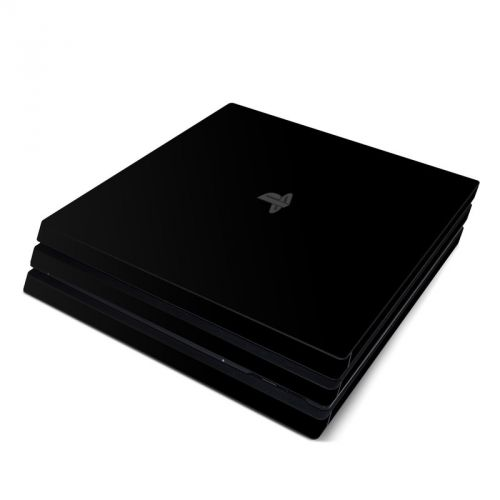 Solid State Black PlayStation 4 Pro Skin