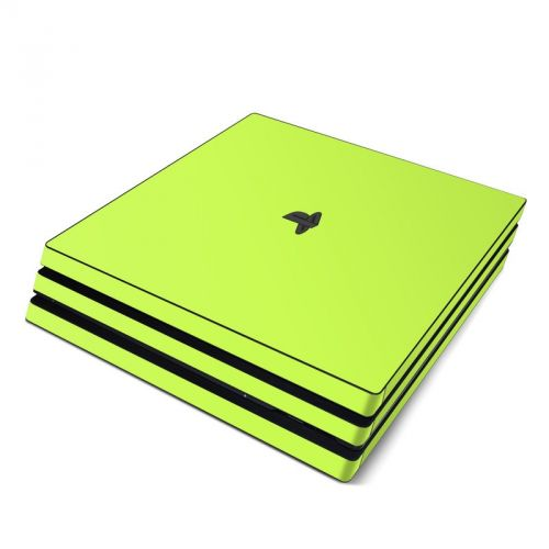 Solid State Lime PlayStation 4 Pro Skin