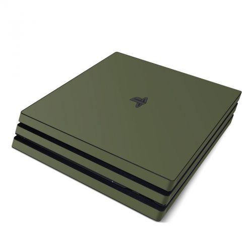 Solid State Olive Drab PlayStation 4 Pro Skin