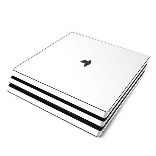 Solid State White PlayStation 4 Pro Skin