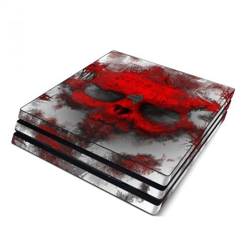 War Light PlayStation 4 Pro Skin