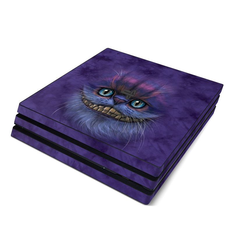 Cheshire Grin PlayStation 4 Pro Skin