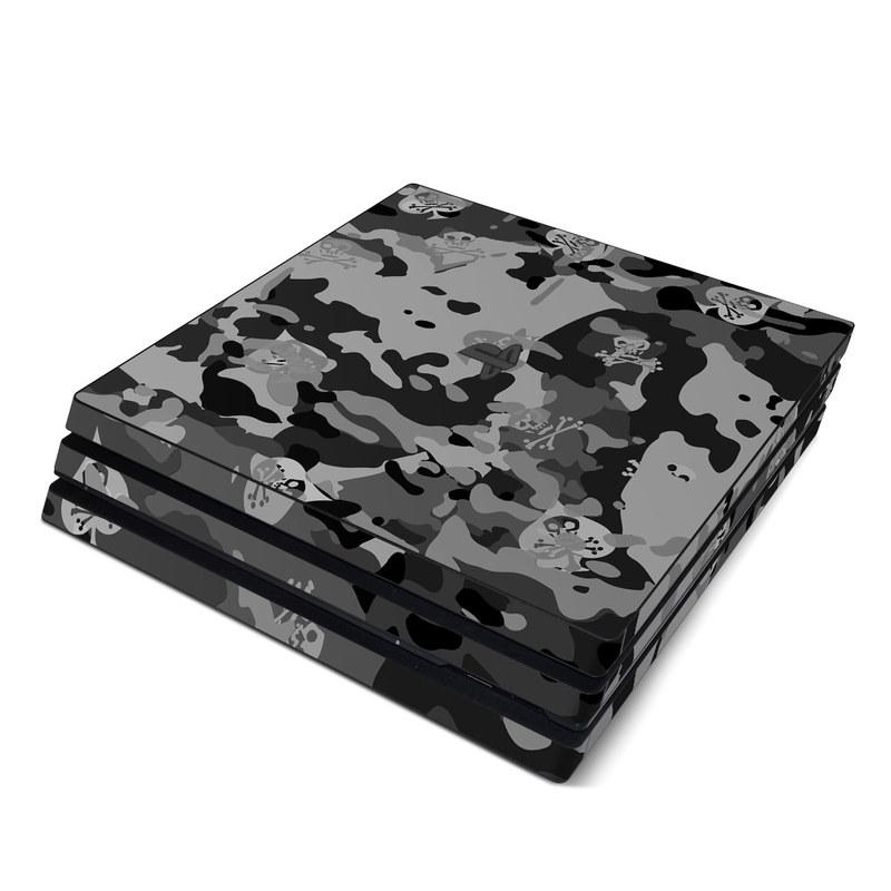 SOFLETE Black Multicam PlayStation 4 Pro Skin