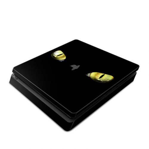 Cat Eyes PlayStation 4 Slim Skin