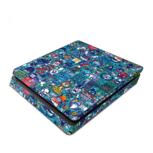 Cosmic Ray PlayStation 4 Slim Skin