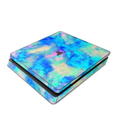 Electrify Ice Blue PlayStation 4 Slim Skin