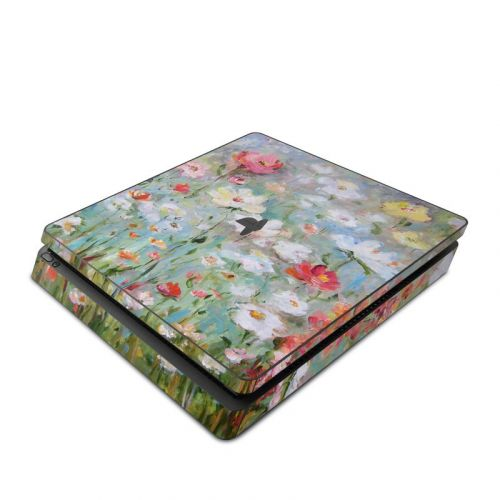 Flower Blooms PlayStation 4 Slim Skin